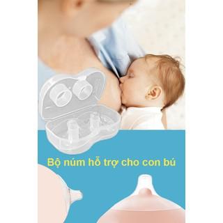 Núm trợ ti cao cấp MEDELA cho bé chính hãng Núm trợ ti ngực silicon mềm hỗ trợ mẹ cho bé bú. [ĐƯỢC KIỂM HÀNG] 19116070 - 19116070 thumbnail