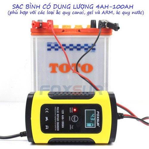 Bộ sạc bình ắc quy thông 12V-6A có chức năng phục hồi acquy bằng khử sunfat, Sạc ắc quy - 11764987 , 19108929 , 15_19108929 , 180000 , Bo-sac-binh-ac-quy-thong-12V-6A-co-chuc-nang-phuc-hoi-acquy-bang-khu-sunfat-Sac-ac-quy-15_19108929 , sendo.vn , Bộ sạc bình ắc quy thông 12V-6A có chức năng phục hồi acquy bằng khử sunfat, Sạc ắc quy