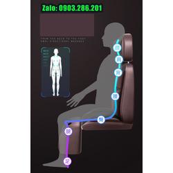 Ghế massage toàn thân đấm bóp 3 chi tiết