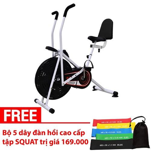 BG Xe đạp tập thể dục Air bike Mẫu mới nhất thị trường tặng kèm 1 Bộ 5 Dây đàn hồi kháng lực cao cấp tập Gym Yoga cao cấp Thái Lan - 11769385 , 19115859 , 15_19115859 , 2999000 , BG-Xe-dap-tap-the-duc-Air-bike-Mau-moi-nhat-thi-truong-tang-kem-1-Bo-5-Day-dan-hoi-khang-luc-cao-cap-tap-Gym-Yoga-cao-cap-Thai-Lan-15_19115859 , sendo.vn , BG Xe đạp tập thể dục Air bike Mẫu mới nhất thị
