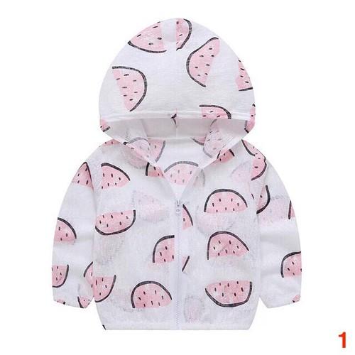 Áo chống nắng cotton giấy cho bé - Mẫu 1