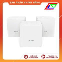 Bộ 3 Thiết bị phát Wifi Ten da Nova MW3 - cao cấp công nghệ Mesh chính hãng