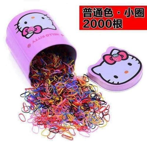 hộp 2000 sợi thun cột tóc cho bé gái - 11781462 , 19135603 , 15_19135603 , 24900 , hop-2000-soi-thun-cot-toc-cho-be-gai-15_19135603 , sendo.vn , hộp 2000 sợi thun cột tóc cho bé gái