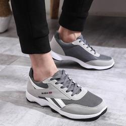 Giày nam thể thao vải lưới thoáng mát ôm chân dễ kết hợp trang phục đế tổng hợp siêu bền giaynam M12