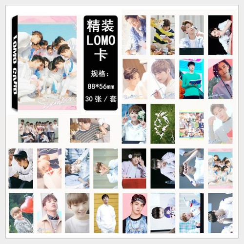 Bộ Lomo Card Seven Teen Mới