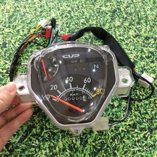 Đồng hồ cơ xe honda CUB 81 đời mới chuẩn như zin - A449 - A449 thumbnail