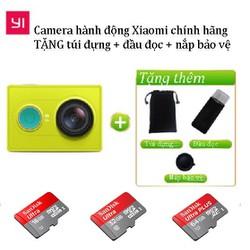 🎁TẶNG 3 PHỤ KIỆN Camera hành động Xiaomi Yi Action 1080p kèm thẻ nhớ class10 - yiaction