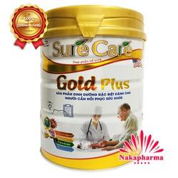 Sữa bột Sure Care Gold Plus 900g – Đặc biệt dành cho người cần hồi phục sức khỏe, ổn định đường huyết, hỗ trợ tim mạch