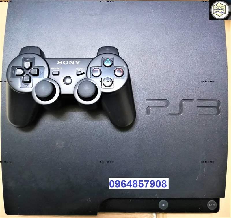 Máy chơi game PS3 Playstation 3 Slim 30xx Hack Hen Tặng 1 Tay cầm