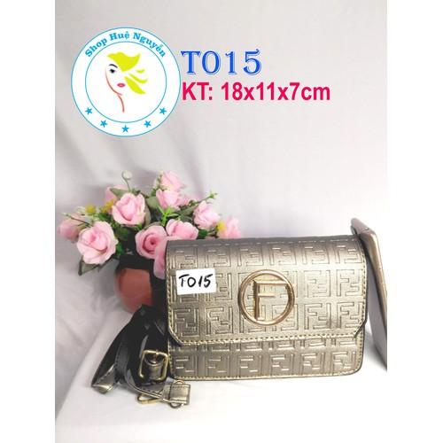 Túi xách da thời trang đeo vai cầm tay - đựng điện thoại máy tính bảng 7 inch 10 inch - T015