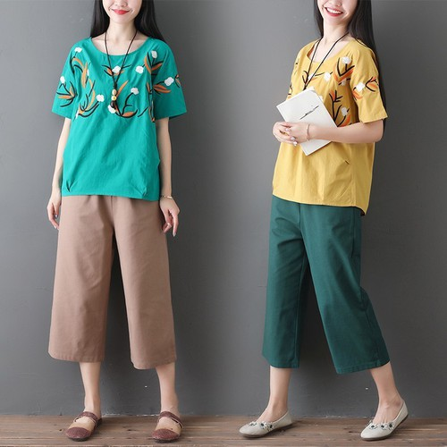 Áo kiểu nữ họa tiết lạ 2A2815