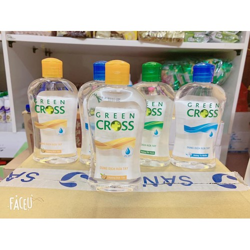Nước Rửa Tay Green Cross 250ml