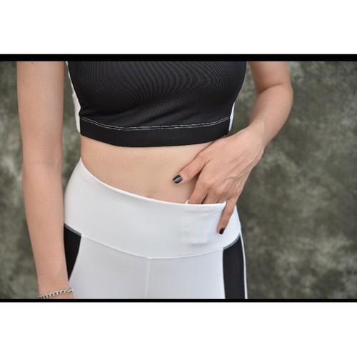 Quần áo croptop tập gym và yoga nữ sọc đen có mút ngực thun co dãn 4 chiều đủ size ygs26719006 - 12505826 , 20304557 , 15_20304557 , 290000 , Quan-ao-croptop-tap-gym-va-yoga-nu-soc-den-co-mut-nguc-thun-co-dan-4-chieu-du-size-ygs26719006-15_20304557 , sendo.vn , Quần áo croptop tập gym và yoga nữ sọc đen có mút ngực thun co dãn 4 chiều đủ size yg