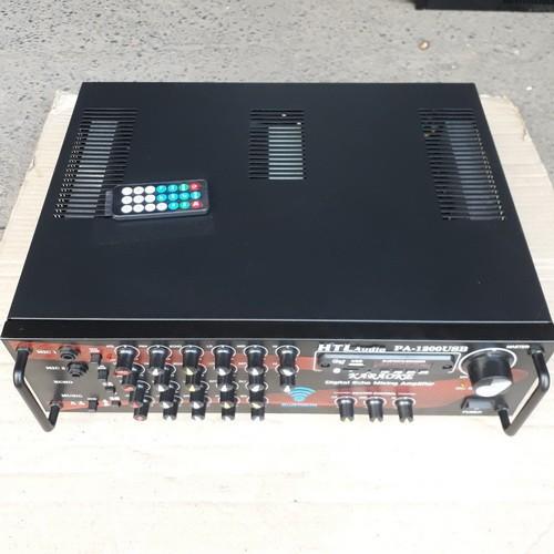 Amplifier karaoke Bluetooth 12 sò