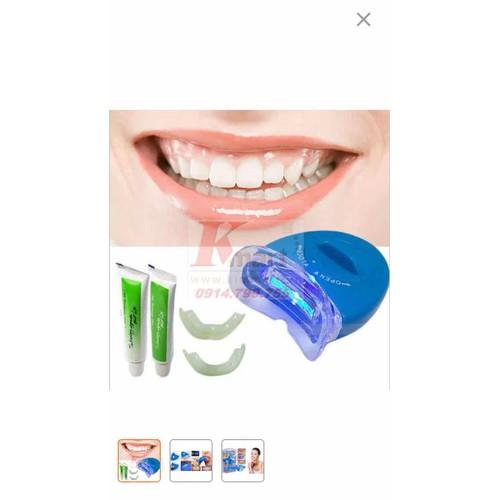 Thiết bị làm trắng răng an toàn White Lingt Cộng 2 tuýt thuốc tẩy