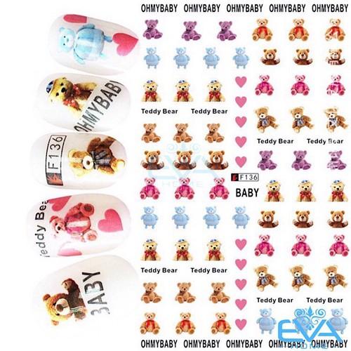 Miếng Dán Móng Tay 3D Nail Sticker Tráng Trí Hoạ Tiết Chú Gấu Dễ Thương Cute Bear F136 - 11807183 , 19175961 , 15_19175961 , 35000 , Mieng-Dan-Mong-Tay-3D-Nail-Sticker-Trang-Tri-Hoa-Tiet-Chu-Gau-De-Thuong-Cute-Bear-F136-15_19175961 , sendo.vn , Miếng Dán Móng Tay 3D Nail Sticker Tráng Trí Hoạ Tiết Chú Gấu Dễ Thương Cute Bear F136