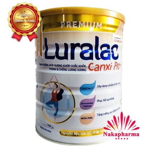 ✅ [CHÍNH HÃNG] Sữa bột Luralac Canxi Pro 900g - Dinh dưỡng giúp xương khớp chắc khỏe, phòng chống loãng xương - 10590742 , 19163190 , 15_19163190 , 329000 , -CHINH-HANG-Sua-bot-Luralac-Canxi-Pro-900g-Dinh-duong-giup-xuong-khop-chac-khoe-phong-chong-loang-xuong-15_19163190 , sendo.vn , ✅ [CHÍNH HÃNG] Sữa bột Luralac Canxi Pro 900g - Dinh dưỡng giúp xương khớp c