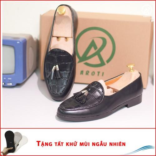 Giày lười nam   Giày nam cao cấp   Giày da nam  M507-LC
