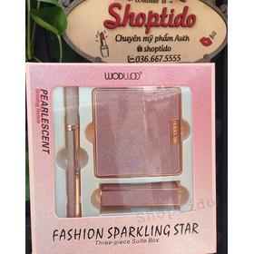 set 3 món trang điểm WODWOD Fashion Sparkling Star, Three-Pice Suite Box - wodwod set 3-4