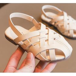Giày Sandal 06 màu kem cho bé gái