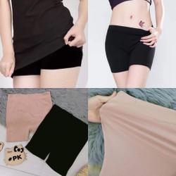 Combo 2 Quần váy 3 phân 1 đen 1 nude chất thun co giãn cực tốt mà chị em gái nào cũng cần
