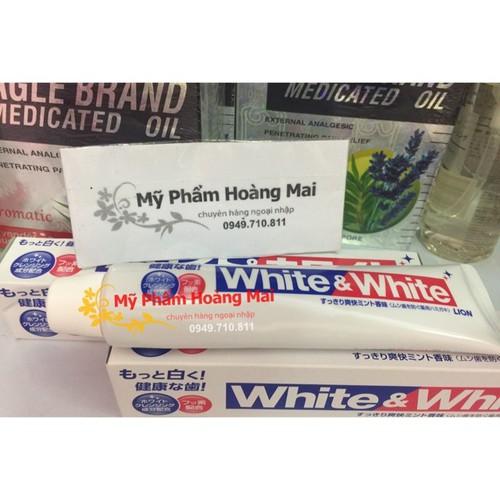 Kem đánh trắng răng White White Lion Nhật 150gr - date mới - 10590695 , 19163129 , 15_19163129 , 49000 , Kem-danh-trang-rang-White-White-Lion-Nhat-150gr-date-moi-15_19163129 , sendo.vn , Kem đánh trắng răng White White Lion Nhật 150gr - date mới