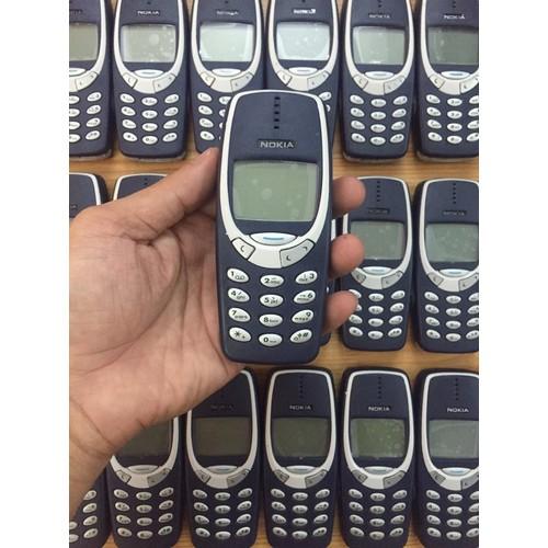 Điện Thoại cổ Nokia 3310 main zin chính hãng có pin và sạc Bảo hành 12 tháng