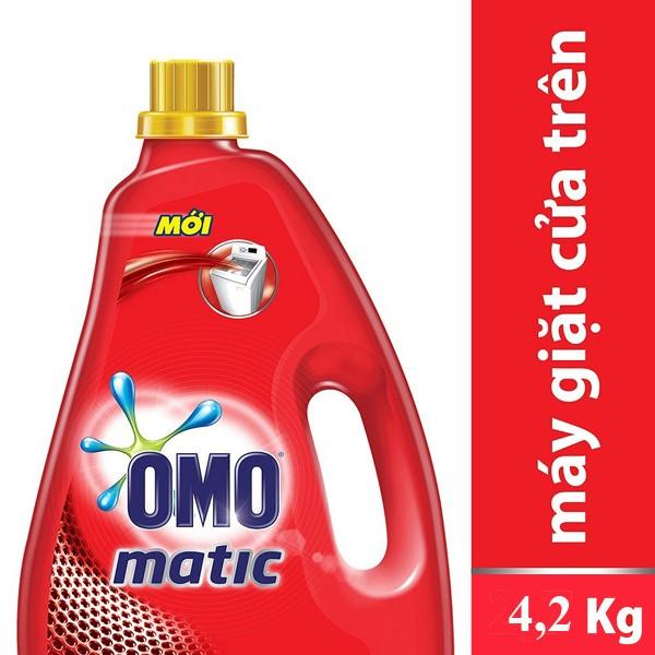 Nước Giặt OMO Cho Máy Giặt Cửa Trên 4.2kg