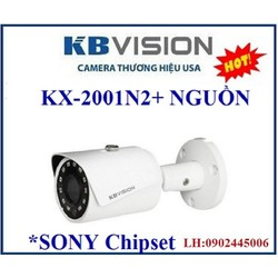 CAMERA IP KX-2001N2+ NGUỒN, CHIP SONY