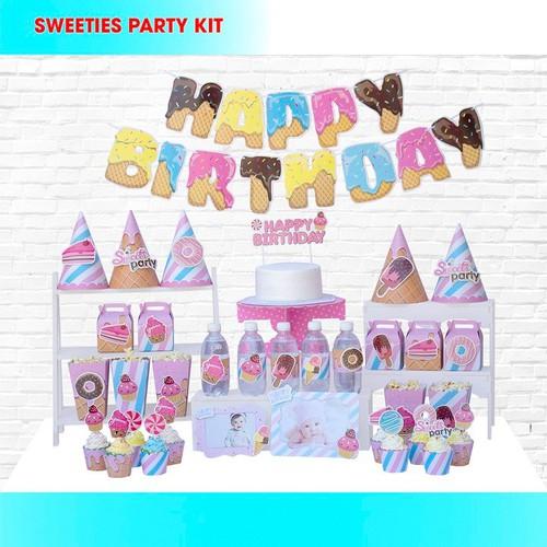 Set trang trí sinh nhật 3D