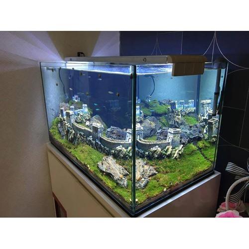 [Ko bao gồm bể] - mô hình vạn lý trường thành size lớn 41cm trang trí bể cá, bể thuỷ sinh - ko bao gồm bể