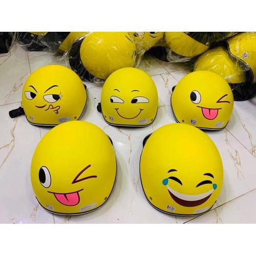 Nón Mũ Bảo Hiểm Hình Mặt Cười Emoji Rất Dễ Thương Loại Cao Cấp - Giá Cực Rẻ - Giao Ngẫu Nhiên Nha - 11820209 , 19195846 , 15_19195846 , 75000 , Non-Mu-Bao-Hiem-Hinh-Mat-Cuoi-Emoji-Rat-De-Thuong-Loai-Cao-Cap-Gia-Cuc-Re-Giao-Ngau-Nhien-Nha-15_19195846 , sendo.vn , Nón Mũ Bảo Hiểm Hình Mặt Cười Emoji Rất Dễ Thương Loại Cao Cấp - Giá Cực Rẻ - Giao Ngẫu