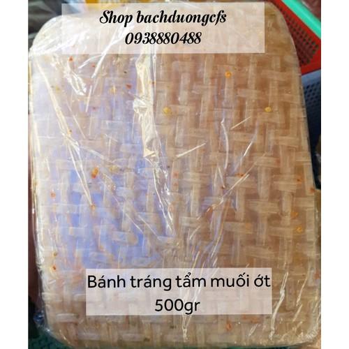 bánh tráng500gr bánh tráng tẩm muối ớt Tây Ninh