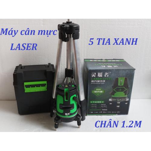 Máy cân mực bằng tia Laser 5 xanh