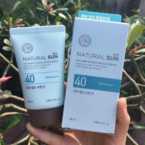 Kem chống nắng Natural Shine Hydrating Sun Cream Hàn Quốc 50ml