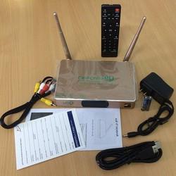 Đầu thu Q9s thông minh Ram 1GB CHIP 3128 biến tivi thường thành tivi thông minh