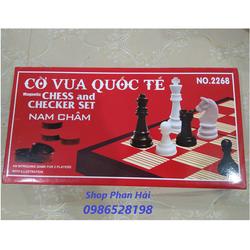 Bộ cờ vua quốc tế nam châm cỡ lớn NO.2268