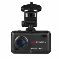 WEBVISION A28 Camera hành trình 4K GPS và cảnh báo an toàn