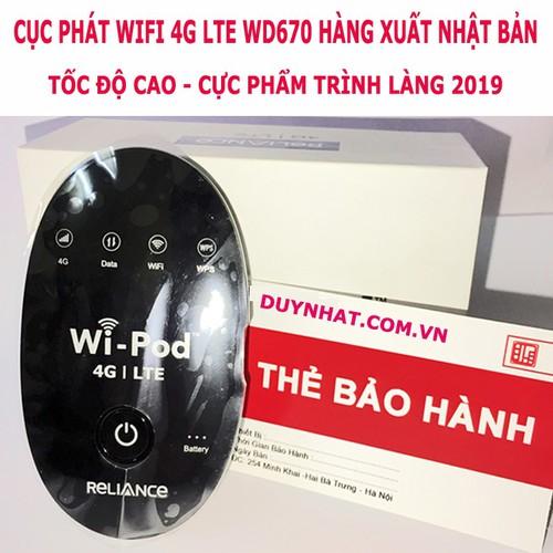 Wifi Di Động WD670 - Thiết Bị Wifi Mọi Lúc Mọi Nơi