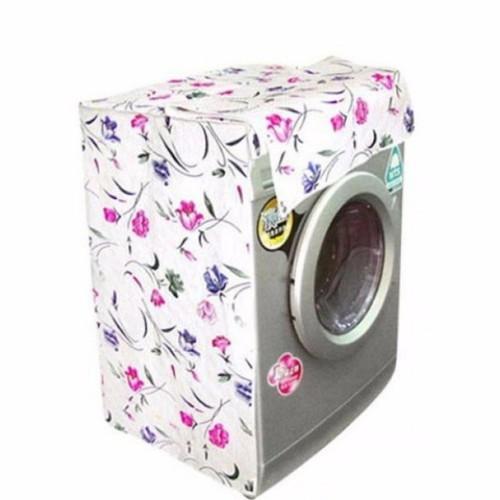 Vỏ bọc máy giặt cửa ngang gg24 trắng phối hoa 9kg