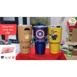 Ly Giữ Nhiệt Yeti Thái Lan 900ml Tặng Kèm Ống Hút + Cọ Rửa + Túi Giữ Nhiệt tặng kèm iring cao cấp