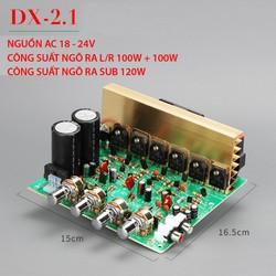 Mạch khuếch đại công suất lớn 2.1 siêu trầm DX-2.1 LR 100W x 2 Sub 120W