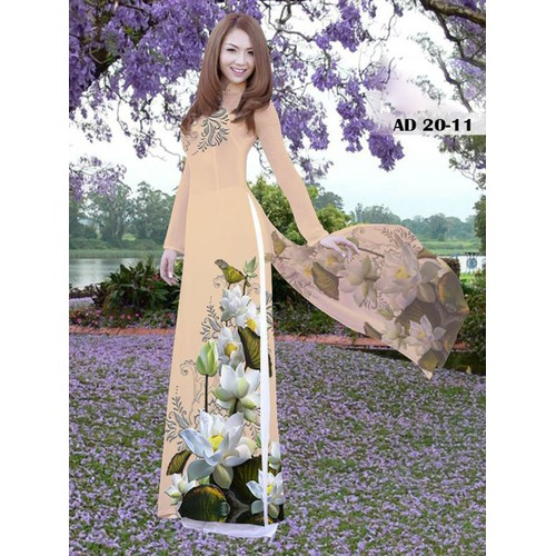 Vải áo dài in hoa sen trắng - 11403005 , 19199829 , 15_19199829 , 270000 , Vai-ao-dai-in-hoa-sen-trang-15_19199829 , sendo.vn , Vải áo dài in hoa sen trắng