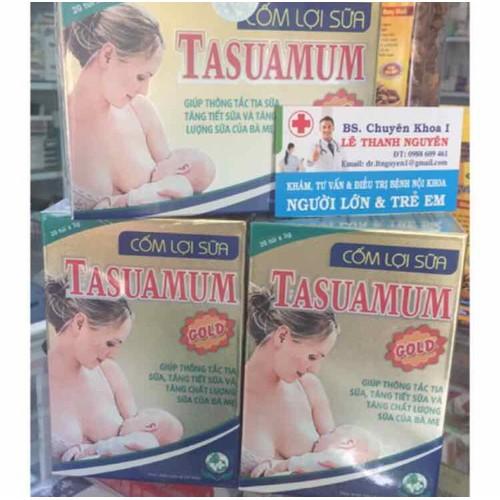 CỐM LỢI SỮA TASUAMUM lợi sữa cho mẹ