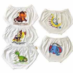 Quần sơ sinh cho bé - Combo 10 quần chip sơ sinh trắng cho bé tu 4-17kg - 222