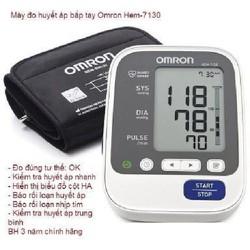 Máy đo huyết áp Omron HEM-7130 + Tặng bộ đổi nguồn AC-Adapter - HEM-7130