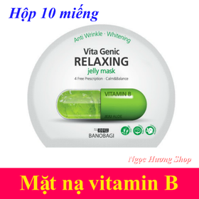 Hộp 10 miếng mặt nạ vitamin B Banobagi - CC011