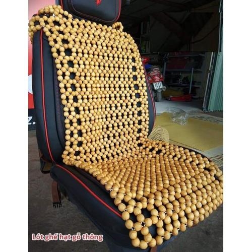 lót ghế oto gỗ thông 18li không chùm đầu