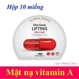 Hộp 10 miếng mặt nạ vitamin A Banobagi - CC010