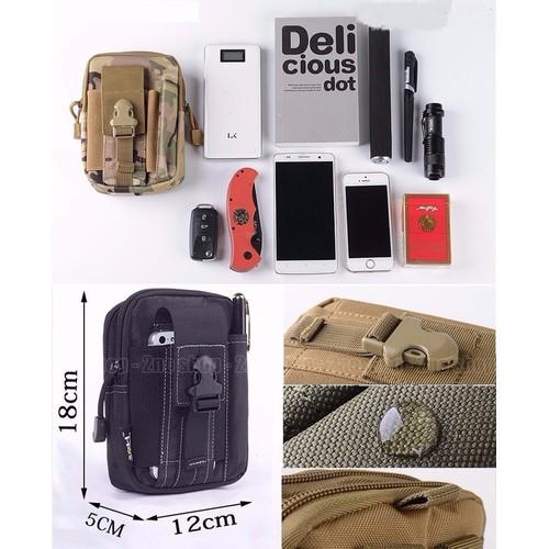 Túi đựng thẻ điện thoại - Túi đeo hông đa năng